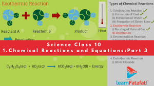 chemical reactions and equations class 10 cbse science chemistry