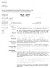 Sample Cover Letter Format Example How To Create Resume Perfect