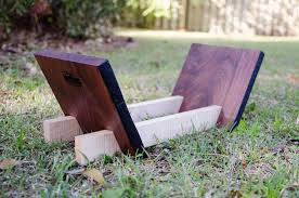 picture of cookbook stand a diy tutorial