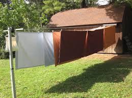 retractable outdoor clothes lines uk designs