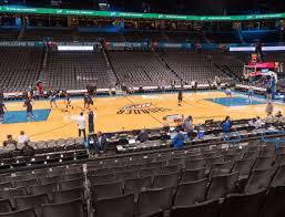 Thunder Game Seating Chart Chesapeake Energy Arena Section 116 Seat Views Seatgeek
