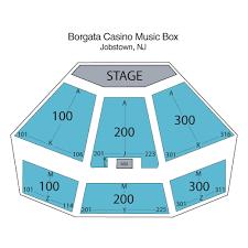 Borgata Venue Seating Chart Music Box At The Borgata Atlantic City Tickets Schedule