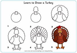 thanksgiving turkey drawing for kids. Brilliant Thanksgiving Image Result For How To Draw A Cartoon Turkey Step By Kids With Thanksgiving Turkey Drawing For Kids G