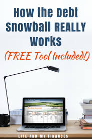 Debt Snowball Pin Free Printableeet Online Calculator Excel
