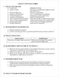 Format Proposal Apa Writing Template Samples Theironangel Co