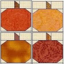 FREE Pumpkin Quilt Block Tutorial | Ushers and Tutorials & clipart picture of pumpkin quilt blocks Adamdwight.com