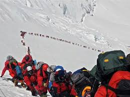 images about teaching into thin air on pinterest  trekking  havent verified that this is everest yet but if it is this