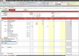 Construction Estimate Template Residential Estimating Spreadsheets