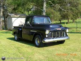 1955 Chevrolet 3100 2nd series pick-up no id 9990