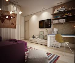 Teen Room Designs: Cool Teen Basement Bedroom - Teenagers Room
