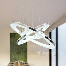 unitary brand modern warm white led acrylic pendant light with
