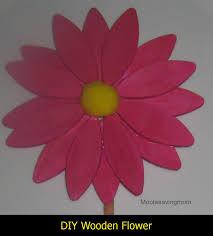 make it monday diy wooden flower