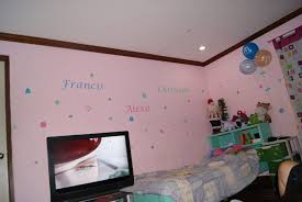 exquisite picture of bedroom decoration with various bedroom wall prints heavenly kid girl bedroom decoration
