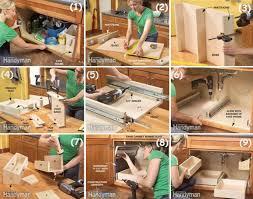 diy under cabinet storage how to maximize under cabinet storage garden design