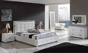 Gertruda EF White Bedroom Set | Modern Bedroom Furniture