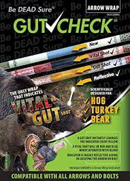 Gut Check Arrow Wraps 4 inch - Indicates Vital & Gut ... - Amazon.com