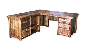rustic office desks. Mexican Pine Computer Desk Rustic Office Furniture Incredible Desks Impressive With Regard To Table L