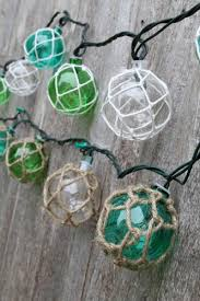Small Picture Glass float string lights Ocean Styles Beach Decor Home Sweet