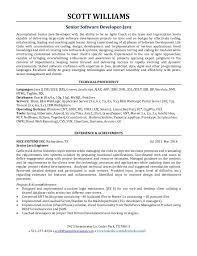 Agile Resume Magnificent Junior Software Developer Resume Incredible Scott Allen Williams