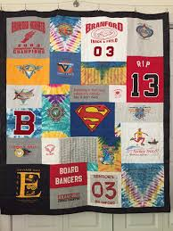 T Shirt Quilt Pattern With Different Size Blocks Extraordinary Custom Tshirt Quilts