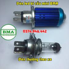 ✓✓ Chân đèn bi cầu mini của BMA thiết kế... - Đèn Led Xe Máy BMA Việt Nam