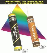 Npc Solar Seal Color Chart Npc 900 Solar Seal Caulk