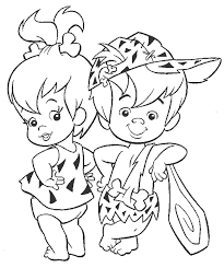 coloring page flintstones cartoons 13 printable coloring pages