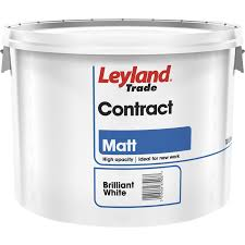 Leyland Emulsion Colour Chart Leyland Contract Matt