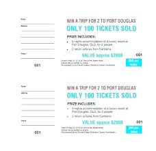 Raffle Ticket Template Publisher Numbered Ticket Template Print Your Own Raffle Tickets Book Printing