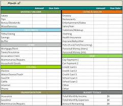 Weekly Monthly Budget Template Simple Monthly Budget Template Printable Weekly Worksheet New Free