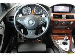 2007 BMW M6 Coupe Black Dashboard Photo #69209906 | GTCarLot.com