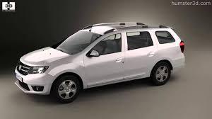 Dacia Logan MCV 2013 by 3D model store Humster3D.com - YouTube