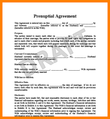 prenup samples prenup form prenup form 6 prenuptial agreement form samples free