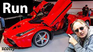 Routine Maintenance On A Ferrari Can Cost More Than Some New Cars