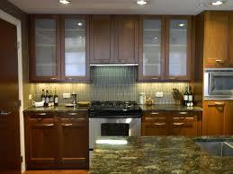 dark wood kitchen cabinets. Plain Dark Dark Wood Kitchen Cabinets With Glass Doors And