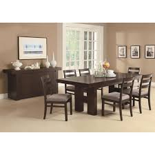 true contemporary toronto double pedestal dining room set dining sets best canada