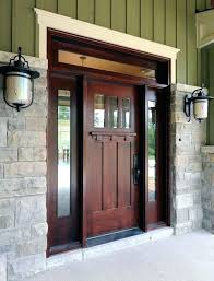 craftsman style front doors craftsman style fiberglass entry doors with sidelights