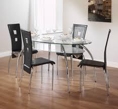 Glass Kitchen Tables Round Kitchen Glass Kitchen Table With Top Dining Table Glass Dining