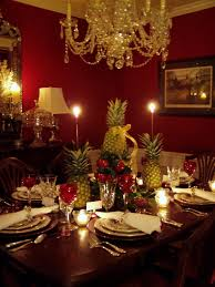 Christmas Dining Room Modern Dining Room Design For Christmas 2016 Of Christmas Dining