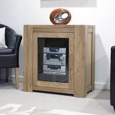 Oak Cabinets Living Room Pemberton Solid Oak Living Room Furniture Hi Fi Entertainment