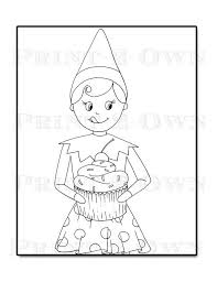 Small Picture Coloring Pages Of Girl Elves Coloring Pages