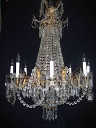 chandelier vintage lighting wrought iron andtal likable acrylic