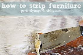 how to strip furniture video tutorial