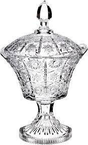 <b>Конфетница Lefard</b> Muza Crystal, на <b>ножке</b>, 17 х 17 х 29 см, 695-018