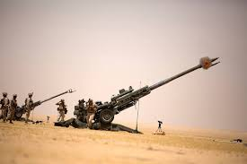 Marine Artilery New Marine Artillery Unit Arrives In Syria Ahead Of Raqqa Offensive