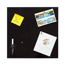 Black Glass Memo Board