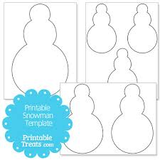 Template Of A Snowman Printable Snowman Template Print Magdalene Project Org