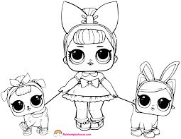Coloring Pages Lol Dolls At Getdrawingscom Free For Personal Use