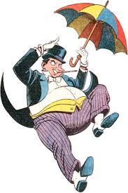 penguin batman original comic. Wonderful Original The Penguin With His Trademark Umbrella Intended Batman Original Comic Y