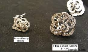 chanel earrings price. chanel camelia cachalong ring in 18k yg earrings price d